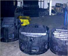 Martillos en cestas